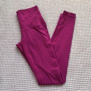 Lululemon Wunder Under High Rise Yoga Pants